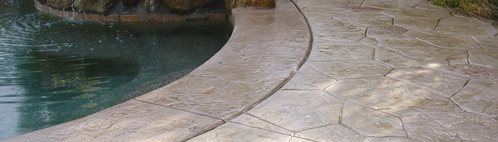 Tan, Stone Concrete Patios Super-Krete Products Spring Valley, CA