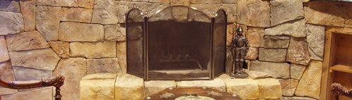 Handcarving Concrete, Vertical Concrete Carving Interior Walls VerticalArtisans.com Hickory Hills, IL