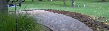 Concrete Walkway Pavers Site Lawrence Concrete Design Louisville, KY