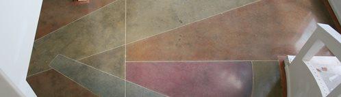 抛光混凝土地板建筑细节艺术表面公司印第安纳波利斯,在