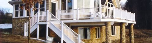 Stone, Yellow Concrete Homes Fox Blocks Omaha, NE