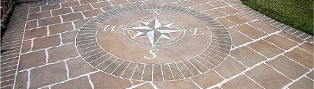 Engraving Concrete Engraving Or Etching Patterns And