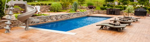concrete pool deck site espj construction corp linden nj - Stamped Concrete Design Ideas