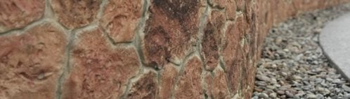 石头,墙垂直冲压定制DesignCrete, Inc . Crescent, PA