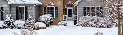 Snow, House Concrete Floors ConcreteNetwork.com ,