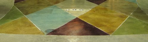 Stained Concrete - How to Acid Stain Floors - The Concrete Network