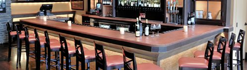 Concrete Bar Counter Concrete Countertops Kulish Design Co LLC Newark, DE