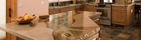 Natural, Stained Site Absolute ConcreteWorks Poulsbo, WA