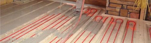 ... Hydronic Radiant Floor Heating System Pex Tubing Carries The Fluid  Heated By. Site Decorative Concrete Institute Temple Ga