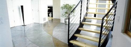 stain concrete cost
