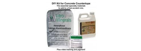 Concrete Countertop Kits Site ConcreteNetwork.com ,