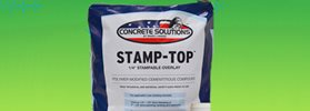 Concrete Solutions Stamp-Top Site ConcreteNetwork.com