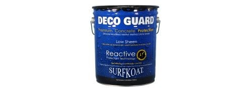 Deco Guard, Reactive Sealer Site Surface Koatings, Inc. Portland, TN