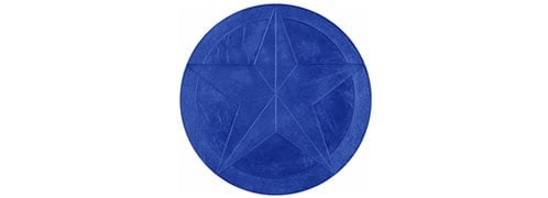 Five Point Star Medallion Concrete Stamp Site ConcreteNetwork.com