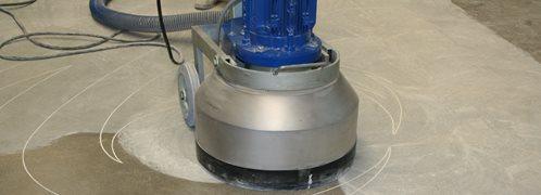 concrete sander machine