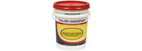 Product Color Hardener Site ConcreteNetwork.com ,