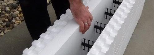 Boost-R Panel, Icf Site Fox Blocks Omaha, NE