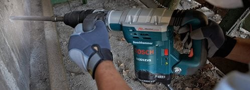 Chipping Hammer, Demolition  Site Bosch ,