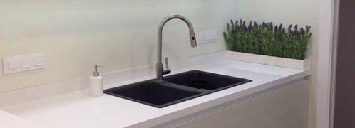 Kitchen Countertop, Microcement Coating Site CimentArt Cibolo, TX
