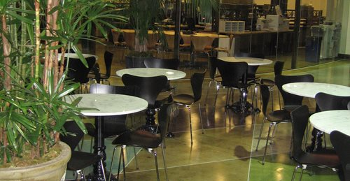 Polished Concrete, Etched Concrete Concrete Floors Demmert & Associates Glendale, CA