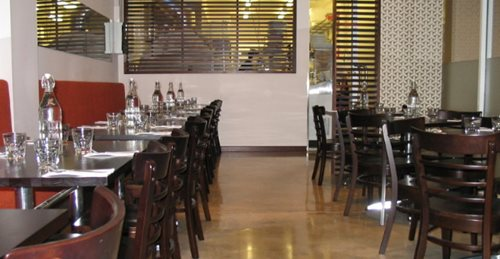 Polished Concrete Restaurant, Restaurant Concrete Floor, Polished Floor In Restaurant Concrete Floors Concrete Stone Industries Victoria, Australia