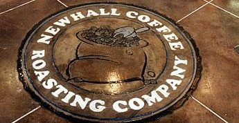Coffee, Logo Concrete Floors Engrave-A-Crete Mansfield, MO