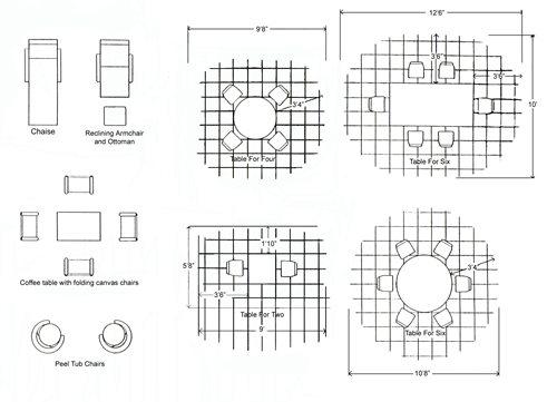 Average Patio Size Diagram Of Dimensions The Concrete Network