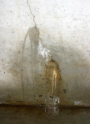 concrete crack repair foundation basement repair kits the concrete network - Fixing Foundation Cracks