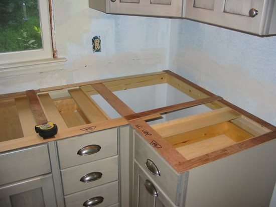 Countertop Beam Concrete Countertop Institute Raleigh, NC