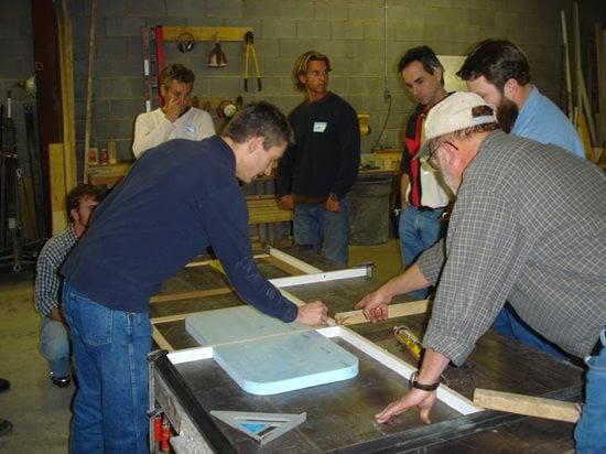 Countertop Making Site Concrete Countertop Institute Raleigh, NC