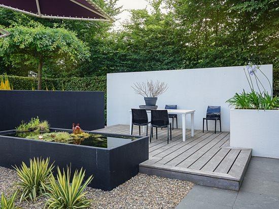 gravel patio extension