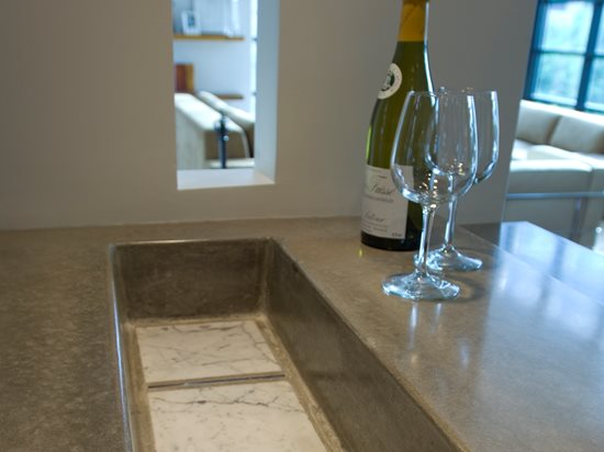 Concrete Countertops Reaching Quiet Design Charlotte, NC