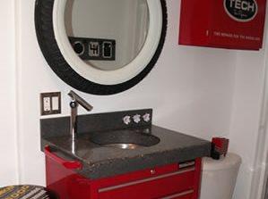 Toolbox, Sink Concrete Countertops Rafter C Precast Concrete Medicine Hat, AB