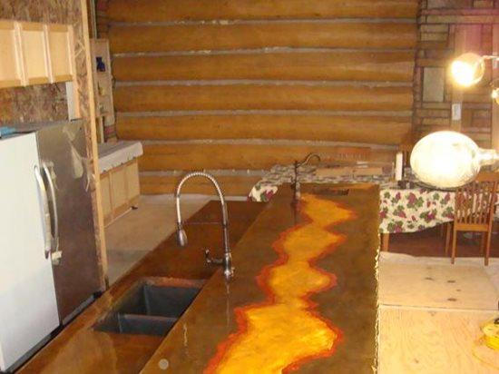 Cast In Place Countertops Site Decorative Concrete Institute Temple, GA