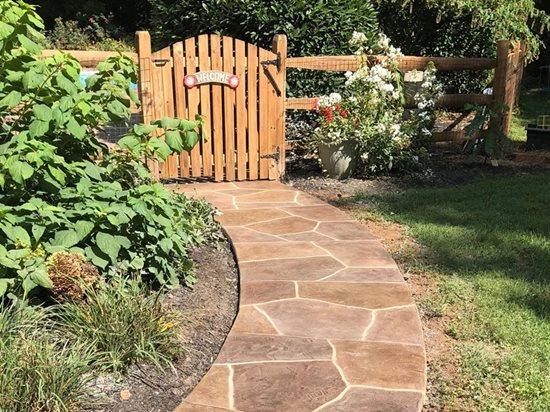 Sunstone, Walkway Coating Concrete Patios Sundek of Washington Chantilly, VA