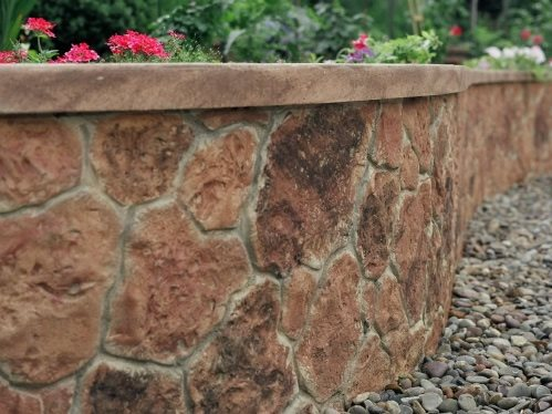 general retaining wall design