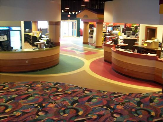 Commercial Floors Impressions Decorative Concrete, Inc Lutz, FL. A Bowling  Alley Floor Colored ...