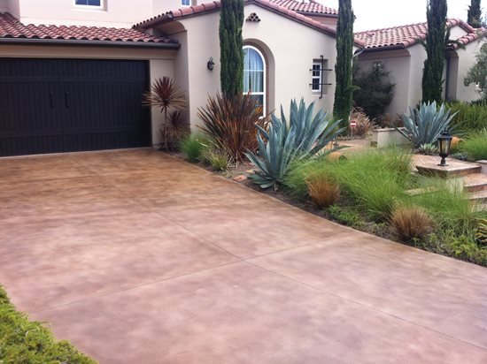 Stained Concrete Driveways Pros