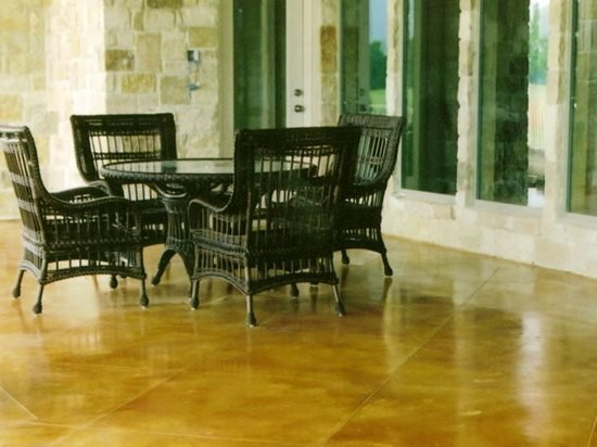 Stained Concrete Texas Concrete Patios Holland Decorative Concrete Rockwall, TX