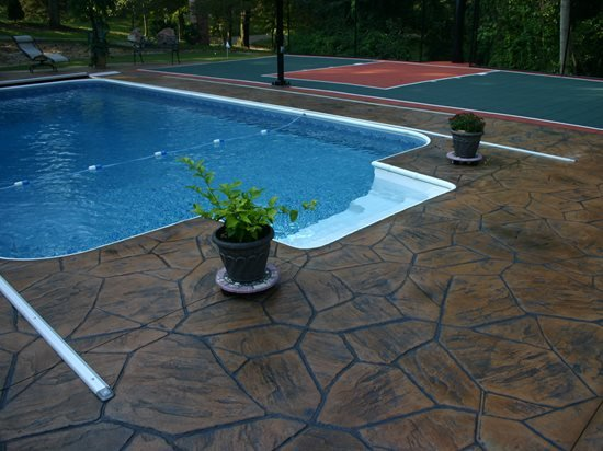 Pool Deck Resurfacing With Concrete Coatings The Concrete Network