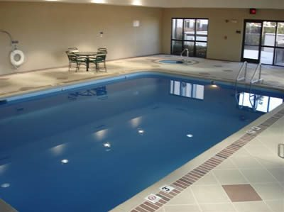 Indoor, Overlay Concrete Pool Decks Nebraska Concrete Coatings McCook, NE