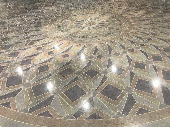 Polishing, Graphic Floor Logos and More Decorative Concrete Institute Temple, GA