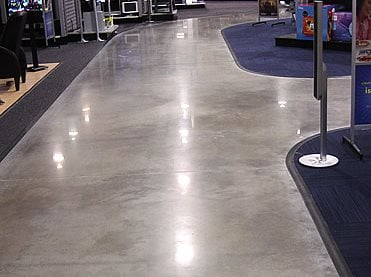 Polished concrete levels the concrete network for How to shine cement floor