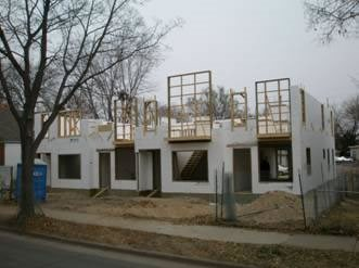 Icf Construction, City Homes Products Fox Blocks Omaha, NE