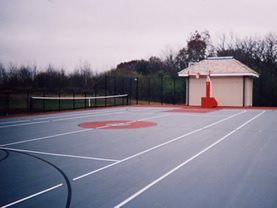 Basketcourt Site ConcreteNetwork.com ,