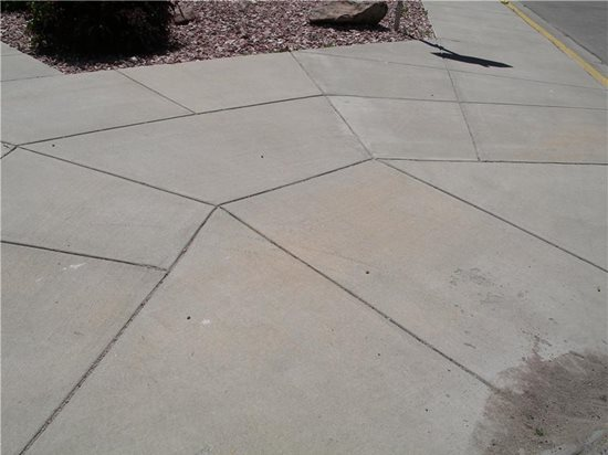 Decorative Cement Slabs : Concrete joints types placing tips appearance