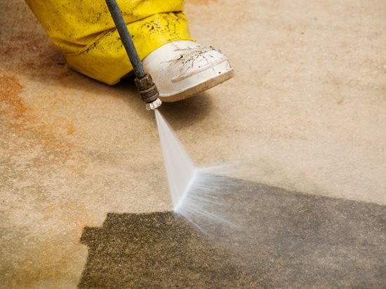 Cleaning Driveway, Power Wash Site ConcreteNetwork.com ,