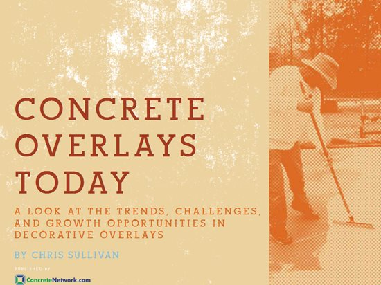 Concrete Overlays Site ConcreteNetwork.com
