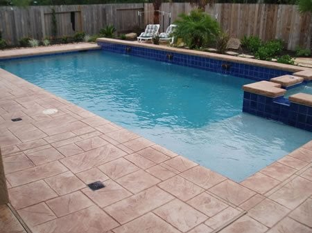 Pool Decks Surfaces Pictures Of Concrete Pool Deck