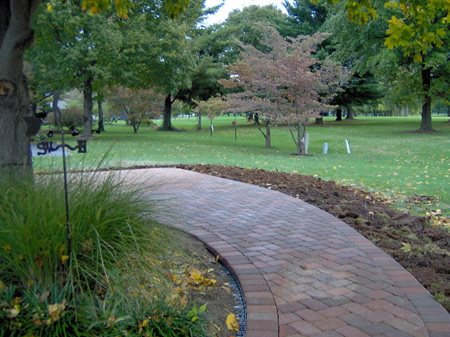 Concrete Walkway Pavers Lawrence Concrete Design Louisville, KY